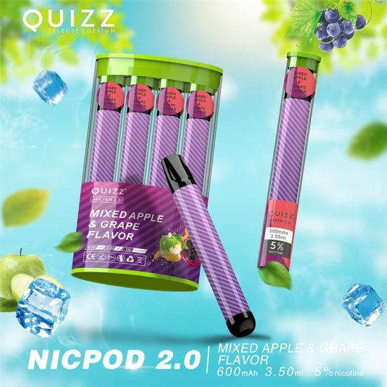 одноразовые электронные сигареты quizz