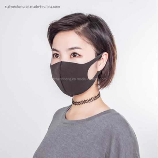 masque anti pollution jetable noir