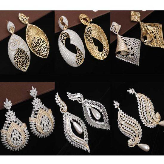 mitad de descuento 15de9 7d612 0-15717 Bisutería Oro Jhumka Diseño pendientes con el precio cuelgan aretes