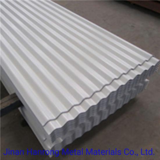 Chine Toiture en métal galvanisé de tôle en acier ondulé en ...