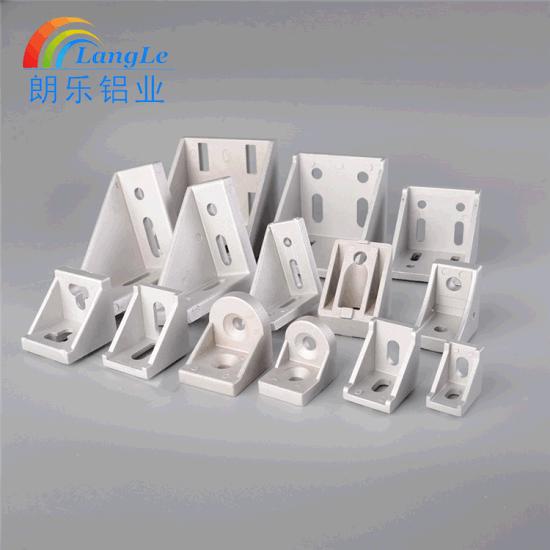 De Toebehoren Van Het Aluminium Verbinding Van Het Profiel Van Het Aluminium Van 180 Graad De Roterende Gezamenlijke