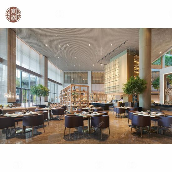 China El restaurante del Hotel moderno de madera muebles ...