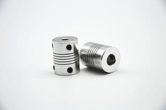 Raccord articul/é 3//4//5//6//6.35//7//8//10 mm Coupleur pas /à pas en alliage daluminium CNC Lot de 2 raccords flexibles pour arbre de moteur 5 mm /à 8 mm 19 x 25 3 mm x 3 mm