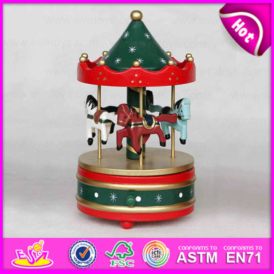 China 2015 Mini Houten Stuk speelgoed, de Muziekdoos van de