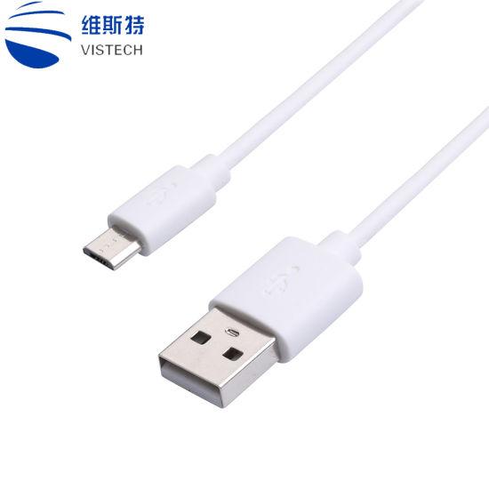 Chine câble de données USB Micro 1.5m Android V8 sur le fil