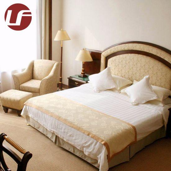 2019 5 étoiles Hôtel de style moderne de la Chine en bois Meubles de  chambre à coucher