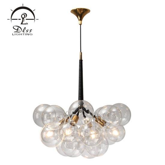 cristal de moderno lámpara de La China de burbuja Jumbo PZOkXuiT