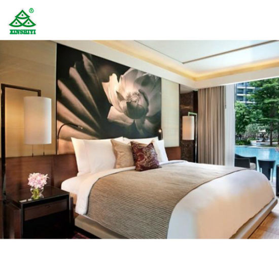 Cina Insieme di camera da letto di lusso moderno dell\'hotel ...