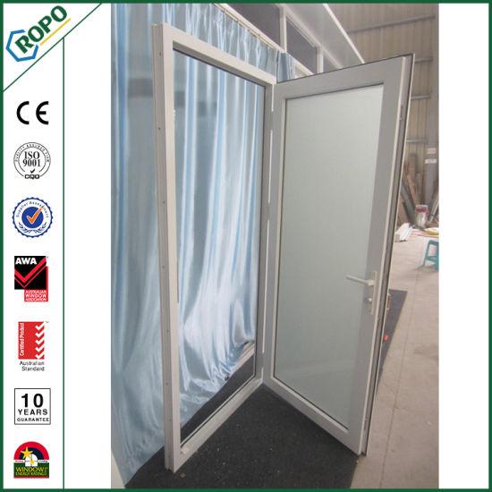 пвх с двойными стеклами один лист наружу открытие французского стекла задней двери