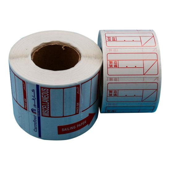 Chine Adhésif étanche étiquette Thermique étiquette Vierge