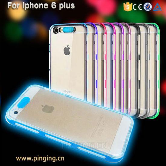 Chine Appel entrant de lumière LED Flash jusqu'étui pour iPhone 6 ...