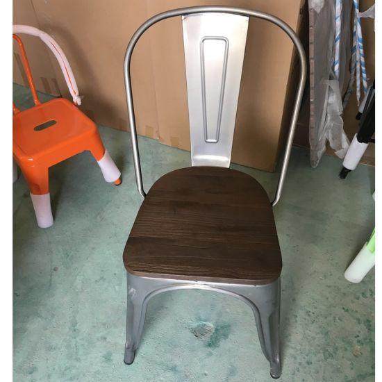 China Venta de fábrica china de comedor sillas Tolix lado ...