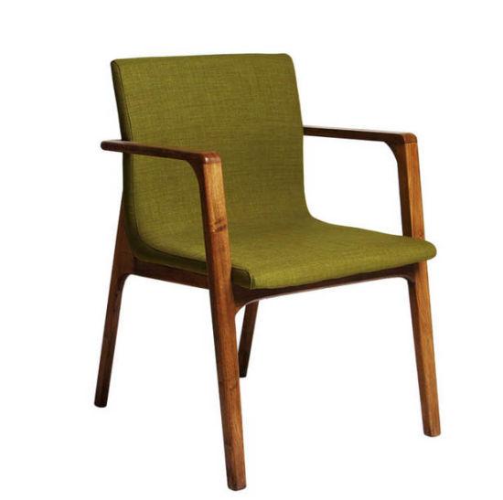 Madera maciza de roble sillas de comedor modernas sillas de comedor sillas  de ordenador (M-X2024)