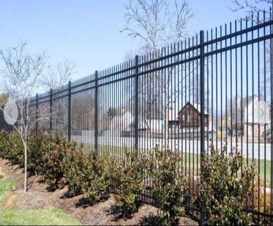 6FT*8FT Spear haut clôture en fer forgé/panneau/de clôture de la clôture de  l\'acier/Clôture de jardin