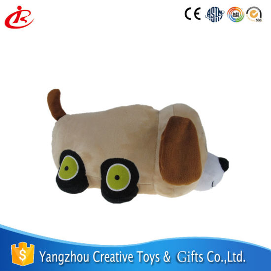 chien voiture peluche