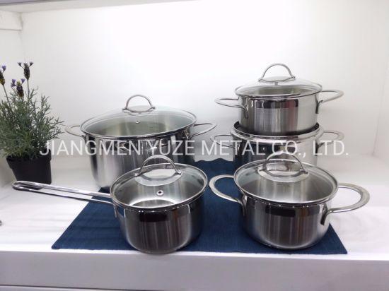 Chine Batterie De Cuisine Induction 10 Pieces Resistantes A La