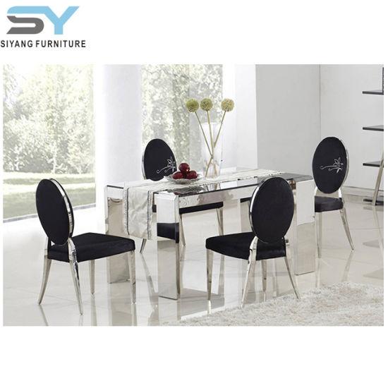 China Mobiliario de casa de cristal mesa abatible mesa de ...