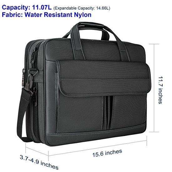 2/en 1 Sacoche extensible /à bandouli/ère pour ordinateur portable 17 grande capacit/é