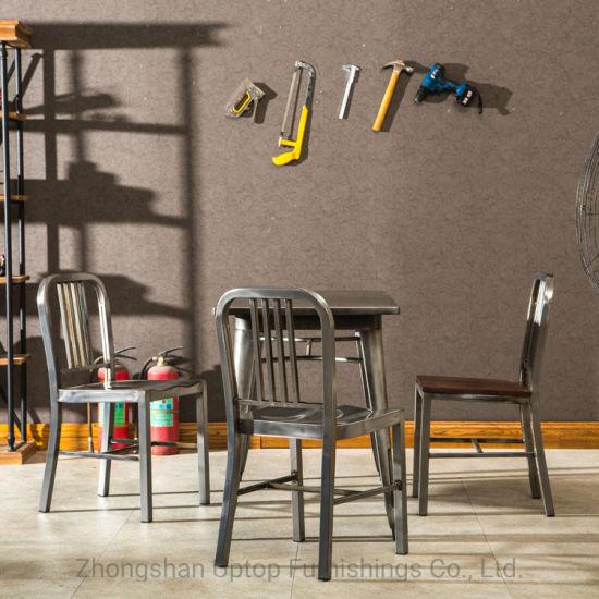China (SP-CT753) Vintage de metal muebles mesa de comedor y ...