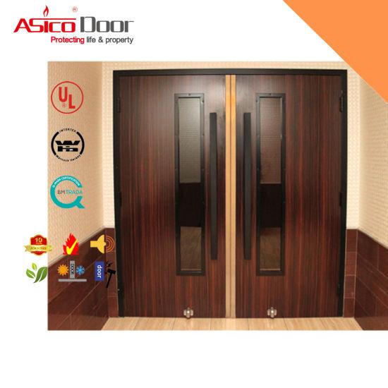 весьма деревянная дверь с рейтингом пожара для эвакуации Bs 476