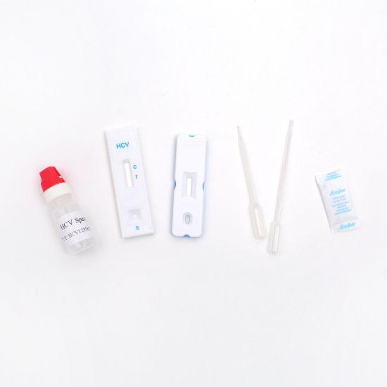 Chine Anti-VHC de diagnostic médical des kits de test kit de test rapide du  VHC Ce a approuvé l'hépatite C – Acheter Kit de test de dépistage du VHC  sur fr.made-in-china.com