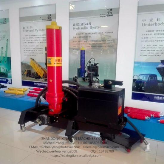 Cina Cilindro Idraulico Per Adattamento Dell Autocarro Con