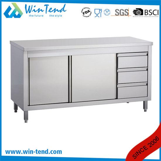 Chine Equipement De Cuisine Commercial Grande Table Du Cabinet