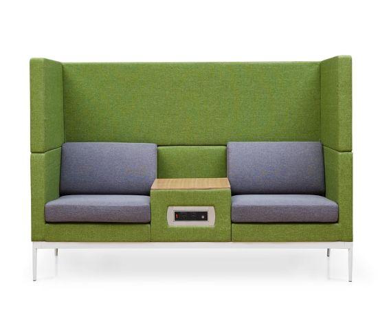 Highback Oficina Sofá Con Mesa De Toma