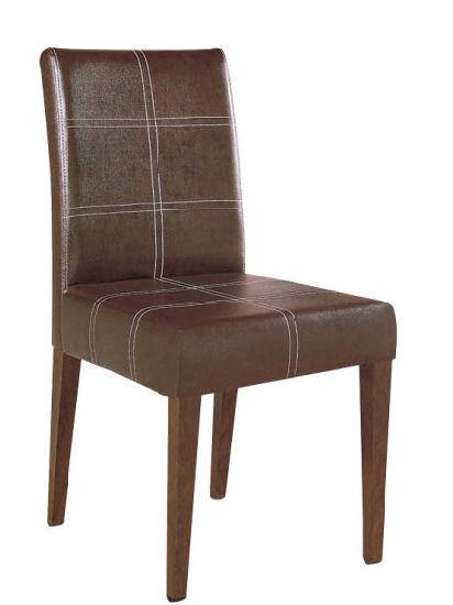 sillas cafeteria tapizada