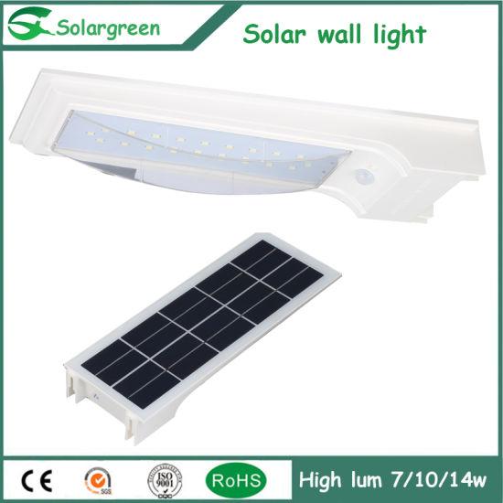 China Amazon Solar de Fence línea Lampara En 5W LED pared shQrdt