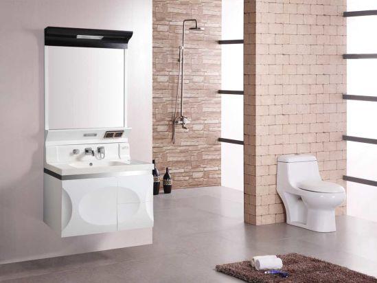China Estilo de lujo de PVC moderno cuarto de baño con ...