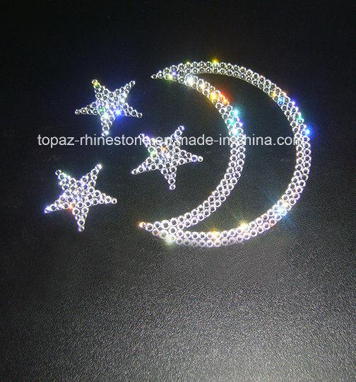 Cristal autoadhesiva Diamante Stick en joyas rhinestone