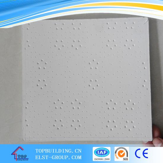 Audacieuse Chine Plaques de plâtre laminé PVC les dalles de plafond 595*595 FO-75