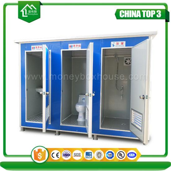 Fácil montaje rápido al aire libre baratos portátiles modulares  prefabricados, cuarto de baño móvil