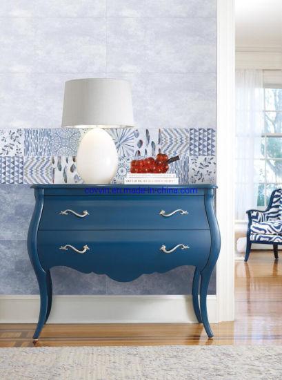 Chine Beatuiful Carrelage De Sol En Ceramique De Couleur Bleue Et