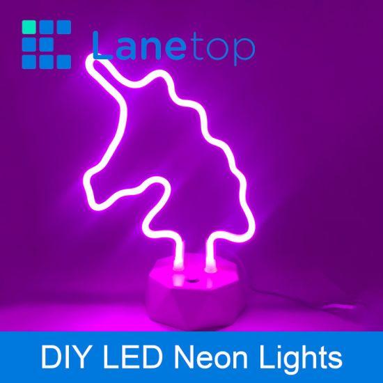 Chine Mini feux à LED, alimenté par batterie avec la forme