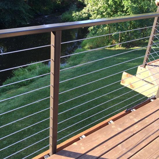 China Balcón De Acero Inoxidable Diseño Baranda Balaustrada