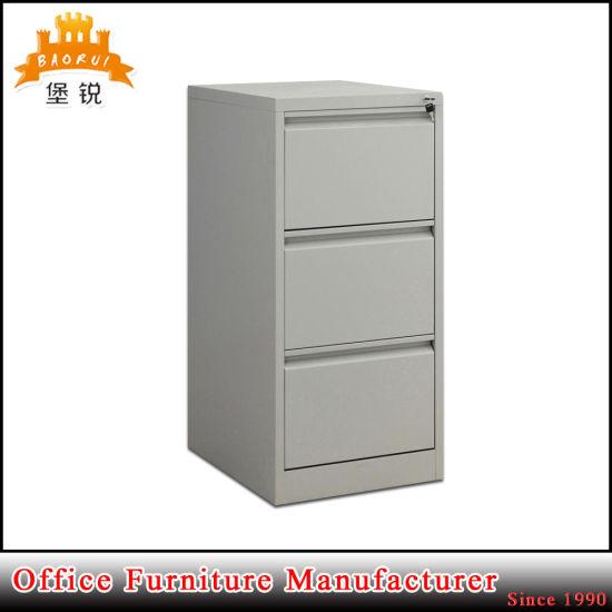 Chine Cheap Metal Armoire 3 Tiroirs Bureau De Depot
