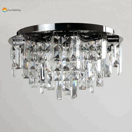 Lámpara lámparas China de techo modernas de cristal tQrCxshdB