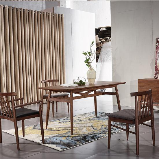 China Silla de madera con reposabrazos para silla de comedor ...
