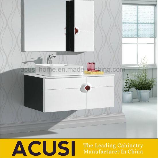 Alta calidad de madera contrachapada Muebles de baño moderno cuarto de baño  conjunto de la vanidad (ACS1-L26).