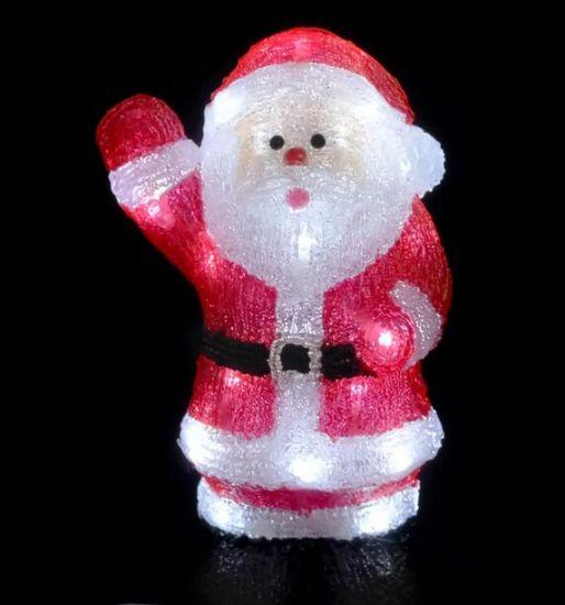 China Acrílico 3d Papai Noel Luz Pai Natal Para Decoração De