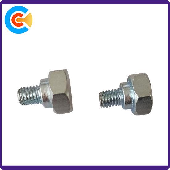 con tuercas cil/índricas elemento de conexi/ón 10 tornillos hexagonales M6 de acero al carbono para muebles