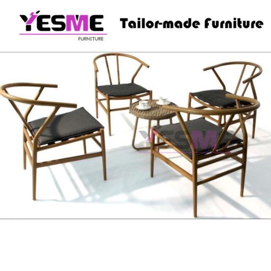 Chine Salon de jardin rotin et mobilier en bois de teck en ...