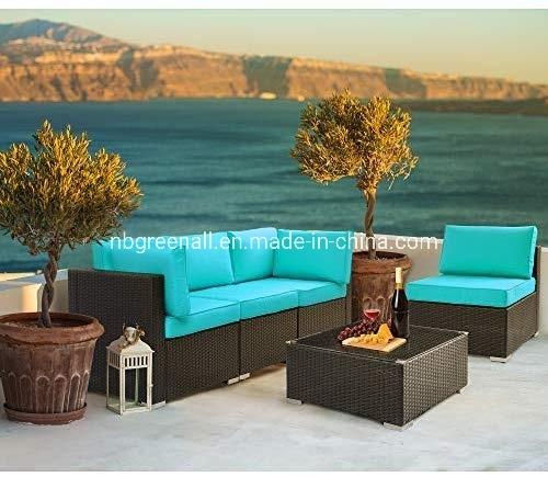 China Neue 5pcs Moderne Sofa Set Patio, Cool Patio Furniture