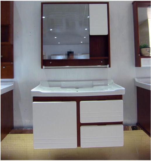 2019 Nouveau vanité Mixing-Color Oak salle de bains avec armoire à  pharmacie 816