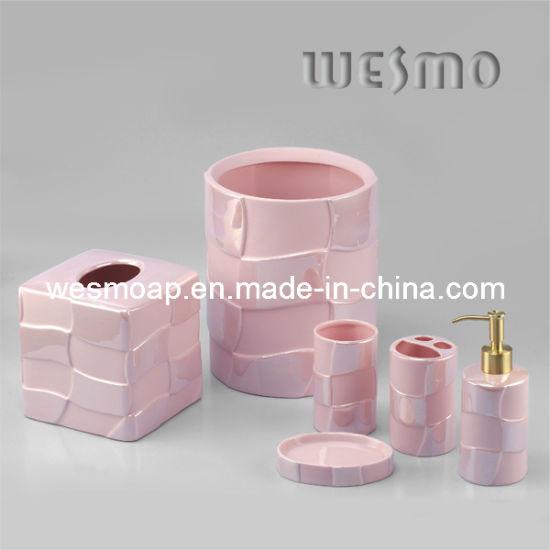 Chine L\'Argile rose porcelaine accessoire de la salle de ...