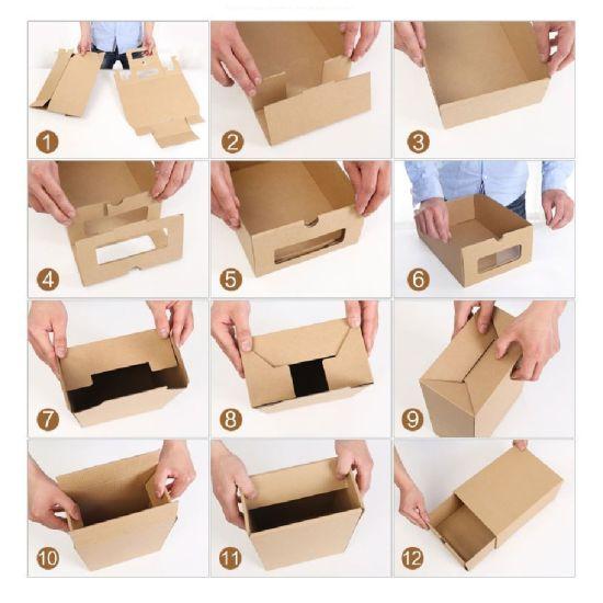 De schoen   De wereld in een doosje