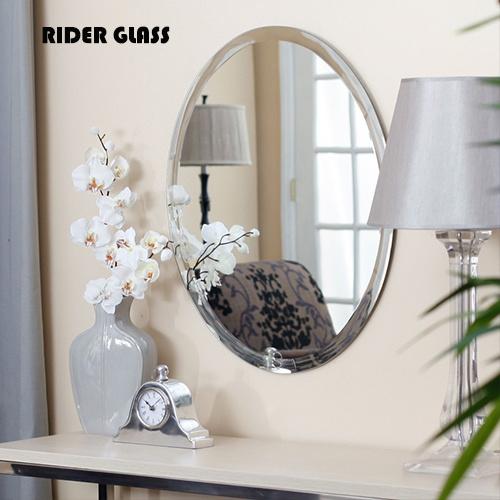 1,8Mm-6mm ronda el cuarto de baño espejo decorativo