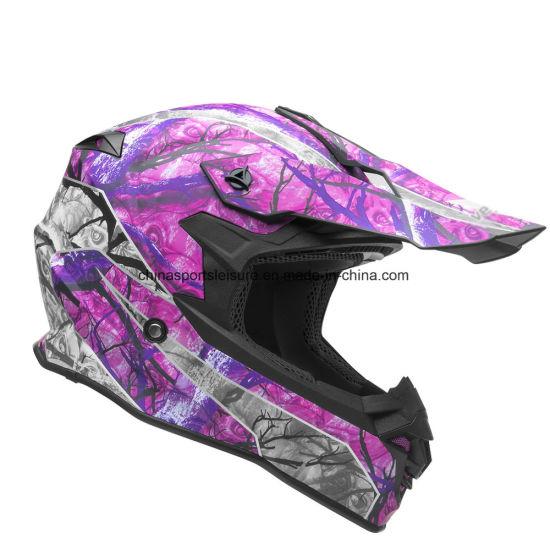 Cascos de Moto de Nieve Púrpura